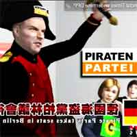 Screenshot aus dem Animations-Video über die Piratenpartei-Deutschland.